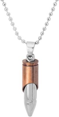 Voylla Dare by Voylla Dual Plated Bullet Pendant Alloy Pendant
