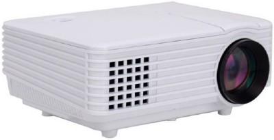 Mezire ™ RD-805 Mini Multimedia Home Theater Projectors USB HDMI 800 lm LED Corded Portable Projector(White) Portable Projector(White)