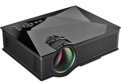 Mezire Play Projector UC46-Black 1200 lm LED Cordless Mobiles Portable Projector(Black, White) Portable Projector(Black)