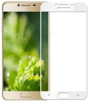 VaiMi Tempered Glass Guard for Samsung Galaxy C9 Pro(Full Glue , No Rainbow Shadow)
