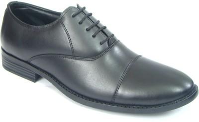07afef7af260 46% OFF on ASM Men s Pure Leather Oxford Shoes Lace Up For Men(Black) on  Flipkart