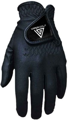 Viper Golf All Weather Glove Golf Gloves (S, Black)