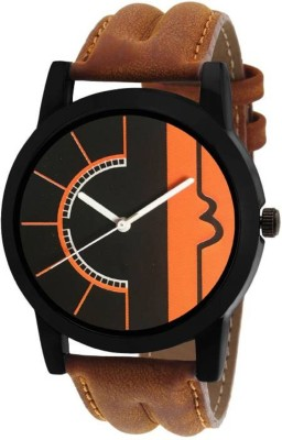 Miss Perfect latest chronograph pattern attractive (Brown) genuine leather belt watch for Men and Women Watch - For Boys & Girls Watch  - For Boys  available at flipkart for Rs.169