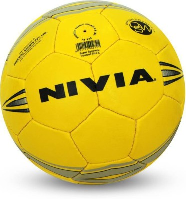 Nivia Super Synthetic Football - Size: 5(Pack of 1, Multicolor)  available at flipkart for Rs.855