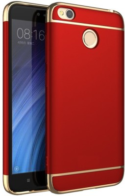 GadgetM Back Cover for Mi Redmi 4 Red