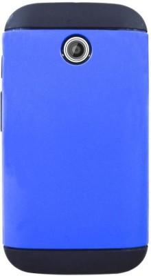 COVERNEW Back Cover for Motorola Moto E  1st Gen  Blue COVERNEW Plain Cases   Covers