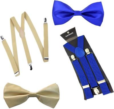 Sun Shopping Y  Back Suspenders for Men Multicolor
