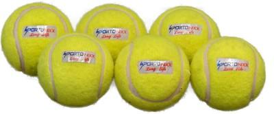 Sportonixx   LONG LIFE   Cricket Tennis Ball   Size: 3 Pack of 1, Green Sportonixx Cricket Balls