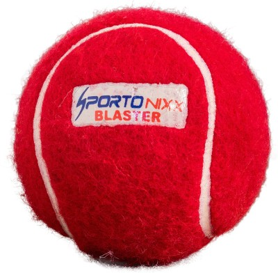 Sportonixx | BLASTER | Cricket tennis Ball - Size: 3(Pack of 1, Red)  available at flipkart for Rs.99