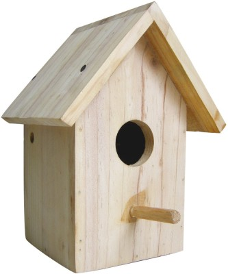 Birdhousebuilder NB004 House Sparrow Bird House Nest Box Bird House(Wall Mounting, Tree Mounting, Free Standing)