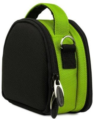 Vangoddy Lime Green Laurel Edition Stylish Nylon Camera Carrying Bag - Sony Cyber Compact Digital Camera - AD_CAMLEA045_001JESUS015  Camera Bag(Green)  available at flipkart for Rs.2745