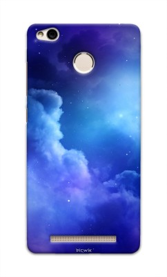 Picwik Back Cover for Mi Redmi 3S Prime Blue, Waterproof