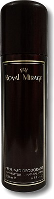 Royal Mirage ORIGINAL Perfume Body Spray  -  For Men & Women(200 ml) Flipkart