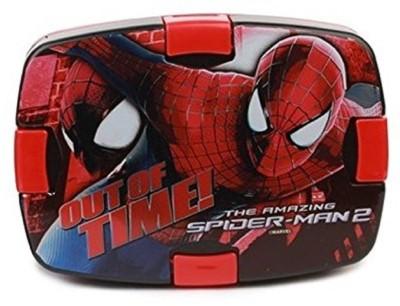 Cello Spiderman Combo Plastic Lunch Box Set 2 Containers Lunch Box 300 ml Cello Lunch Boxes
