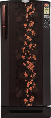 Godrej 210 L Direct Cool Single Door 4 Star Refrigerator with Base Drawer(Cocoa Spring, R D Edgepro 210PD 4.2 C Spr)