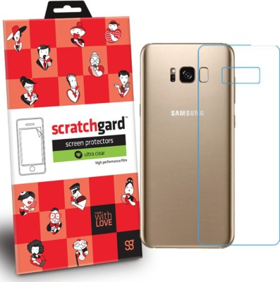 Scratchgard Back Screen Guard for Samsung Galaxy S8 Plus(Pack of 1)