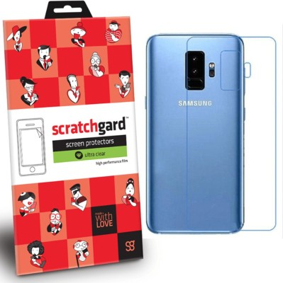 Scratchgard Back Screen Guard for Samsung Galaxy S9 Plus(Pack of 1)