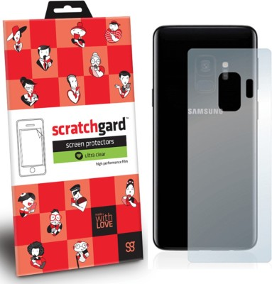 Scratchgard Back Screen Guard for Samsung Galaxy S9(Pack of 1)