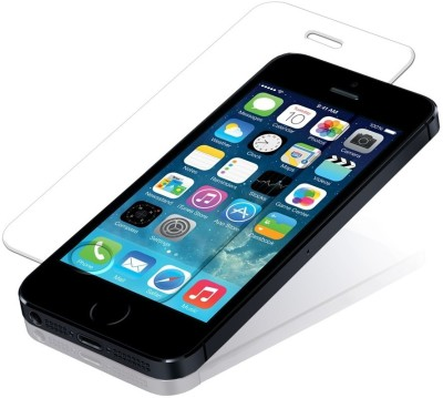 Syncin Tempered Glass Guard for Apple iPhone 5, Apple iPhone 5C, Apple iPhone 5S(Pack of 1)