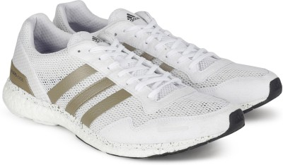 finest selection 0fa7b dba59 35% OFF on ADIDAS ADIZERO ADIOS M Running Shoes For Men(White) on Flipkart    PaisaWapas.com