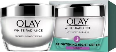 Olay White Radiance Advanced Brightening Night Essence Moisturizer (50gm)