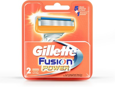 Gillette Fusion Power Shaving Razor Blades 2s pack  Cartridge