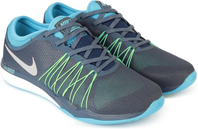 Nike NIKE DUAL FUSION TR HIT Running Shoes For Men(Blue) 1