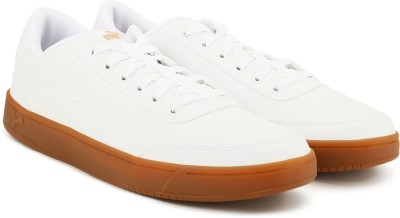 Puma Court Breaker L Mono Sneakers For Men(White) at flipkart