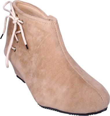 Lancy Boots For Women(Beige)