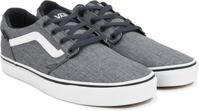 160273de11f 55% OFF on Vans Chapman Stripe Sneakers For Men(Grey) on Flipkart ...