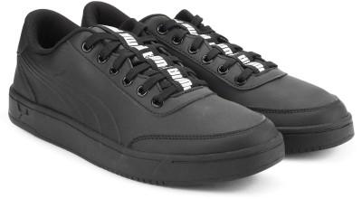 8d67442b9de6c4 37% OFF on Puma Court Breaker Bold Sneakers For Men(Black) on Flipkart |  PaisaWapas.com