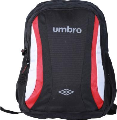 Umbro by Big Bazaar Blaze Laptop Backpack (Black) 18 L Laptop Backpack(Black)