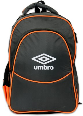 Umbro by Big Bazaar 1002 Polyester Backpack (Grey & Orange) 18.8 L Backpack(Grey)