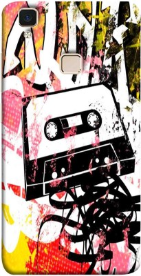 Oye Stuff Back Cover for Vivo V3 Max(Multicolor, Hard Case)