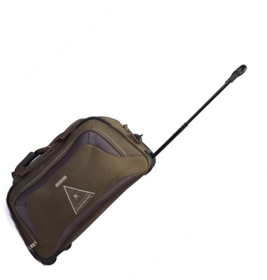 Aristocrat Crysta 67 cm Duffle On Wheel (Olive) Travel Duffel Bag(Green) at flipkart