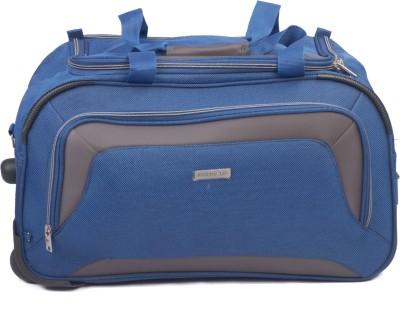 Aristocrat Crysta 67 cm Duffle On Wheel (Blue) Travel Duffel Bag(Blue) at flipkart