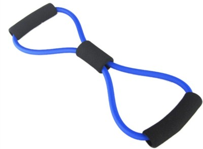 PEANA Blue Color 8 Shape Exercise Band/Stretch Fitness Band Resistance Tube(Blue)  available at flipkart for Rs.255