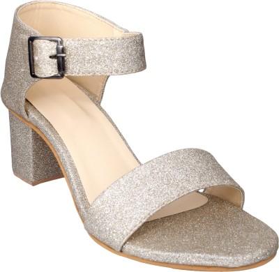 Lancy Women Gold Heels