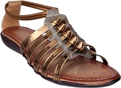 Lancy Women Copper Flats