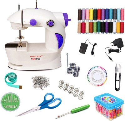 Hemdec Mega Fully Loaded Portable & Compact HMD-CMB03 Mini Electric Sewing Machine( Built-in Stitches 1)