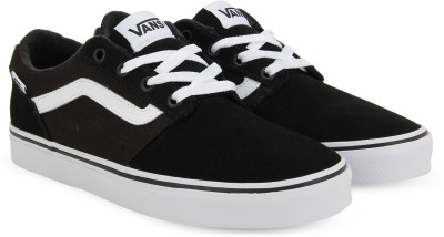 62b201c8692e 30% OFF on Vans Chapman Stripe Sneakers For Men(Black) on Flipkart ...