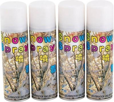 HD CLassy Snow Spray bubble Snow Spray(200 ml, Pack of 4)