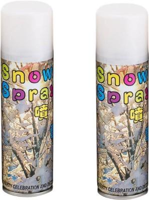 HD stylies snow spray Bubble Snow Spray(200 ml, Pack of 2)