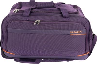 2698b67ca7 40% OFF on Safari Zipp Plus 65 cm Duffle On Wheels (Blue) Duffel Strolley  Bag(Blue) on Flipkart