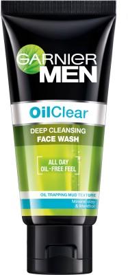 Garnier Men Oil Clear Deep Cleansing Face Wash (50gm)