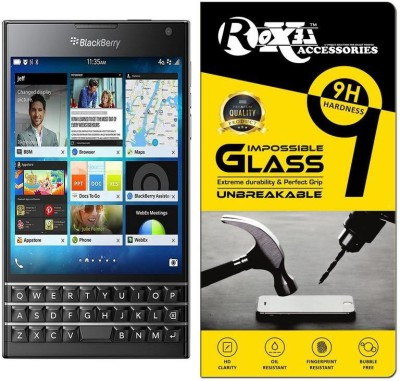 Roxel Impossible Screen Guard for BlackBerry Passport (Black, 32GB)(Pack of 1)