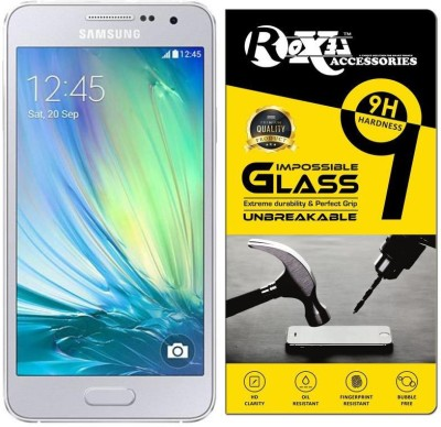 Roxel Impossible Screen Guard for Samsung Galaxy A5 2016 Edition(Pack of 3)