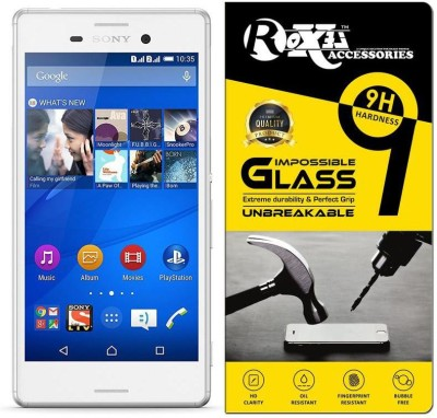 Roxel Impossible Screen Guard for Sony Xperia M4 Aqua(Pack of 1)