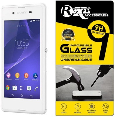Roxel Impossible Screen Guard for Sony Xperia E3 (Dual SIM, White, 4GB)(Pack of 1)