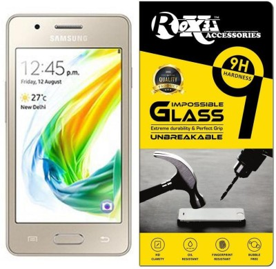 Roxel Impossible Screen Guard for Samsung Z2 (Gold, 8GB)(Pack of 1)